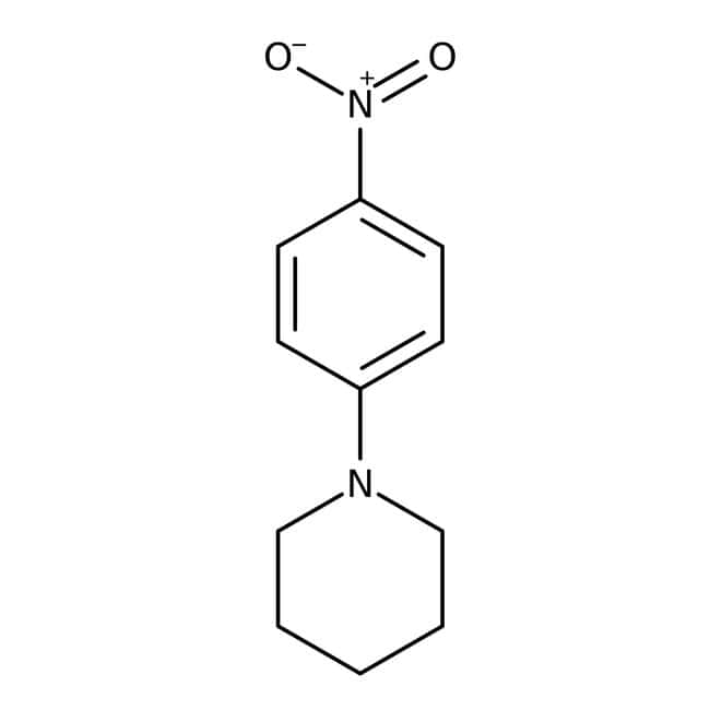 Alfa Aesar™1-(4-Nitrophenyl)piperidine, 97% 25g Alfa Aesar™1-(4-Nitrophenyl)piperidine, 97%