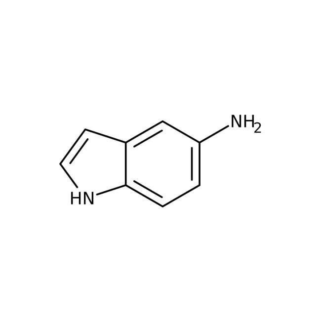 5-Aminoindole hydrochloride, 95%, Acros Organics™ Glass bottle; 1g 5-Aminoindole hydrochloride, 95%, Acros Organics™