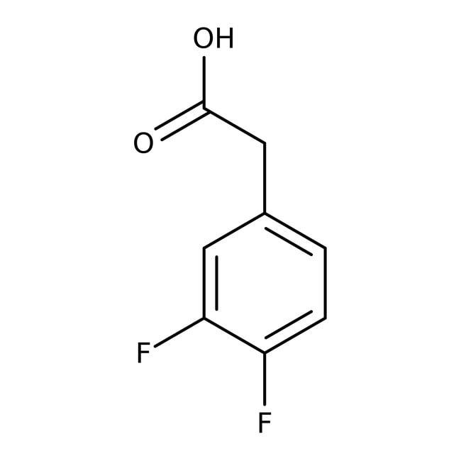 Alfa Aesar™3,4-Difluorophenylacetic acid, 98% 1g Alfa Aesar™3,4-Difluorophenylacetic acid, 98%