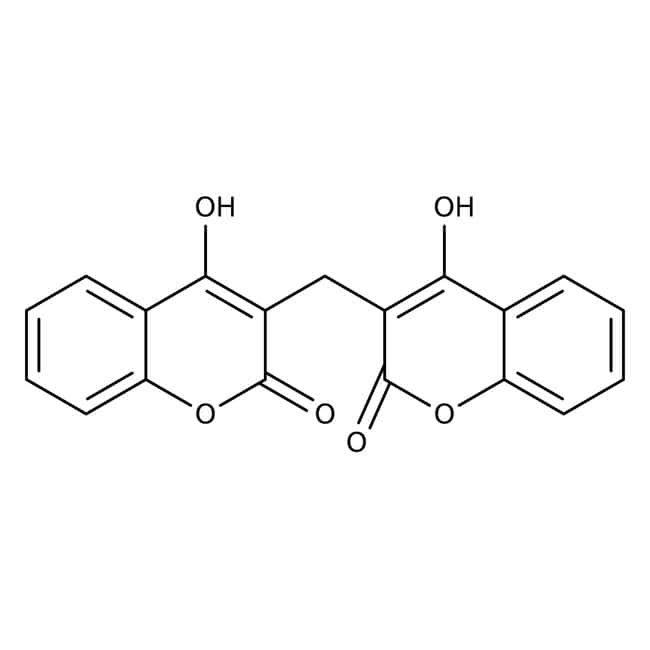 Dicumarol, 99%, ACROS Organics™: Hydroxycoumarins Coumarins and derivatives