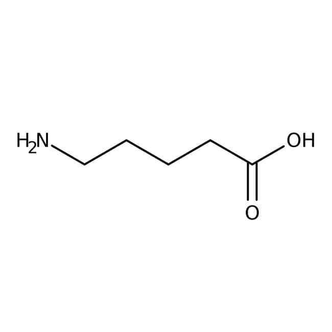 5-Aminovaleriansäure 97%, ACROS Organics™ 5 g-Glasflasche 5-Aminovaleriansäure 97%, ACROS Organics™