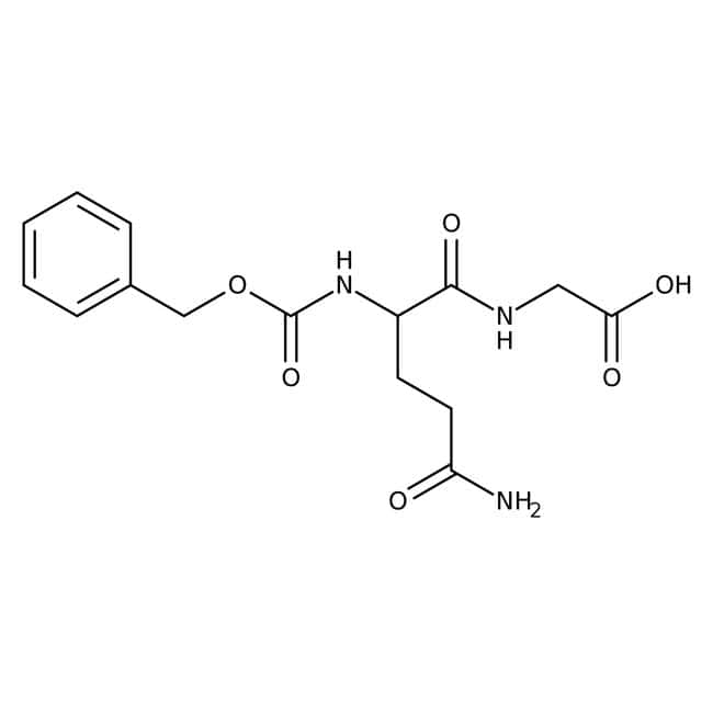 N-Benzyloxycarbonyl-L-glutaminylglycine, 98%, Thermo Scientific™: Biochemicals Chemicals