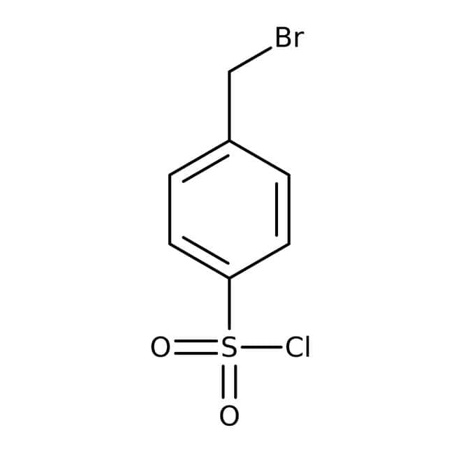 4-Bromomethylbenzenesulfonyl chloride, 95%, ACROS Organics