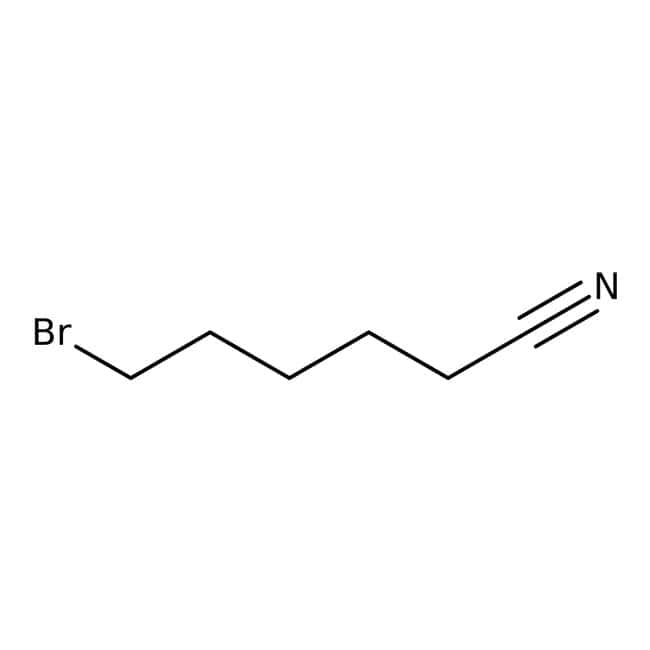 Alfa Aesar™6-Bromhexannitril, 97% 10g Alfa Aesar™6-Bromhexannitril, 97%