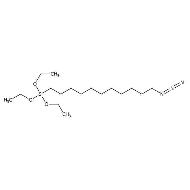 Alfa Aesar™11-Azidoundecyltriethoxysilane, 95% 250mg Alfa Aesar™11-Azidoundecyltriethoxysilane, 95%