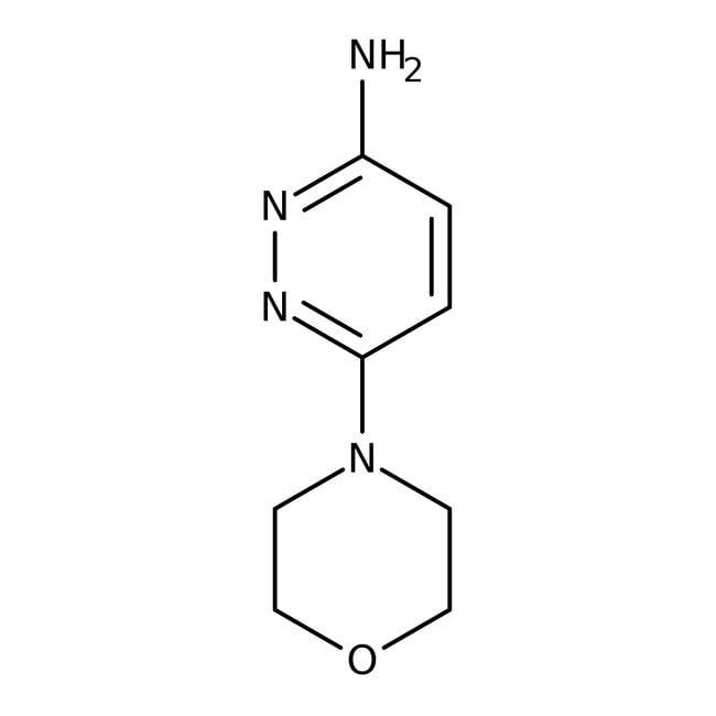 3-Amino-6-morpholinopyridazine, 97%, ACROS Organics™ 5g 3-Amino-6-morpholinopyridazine, 97%, ACROS Organics™