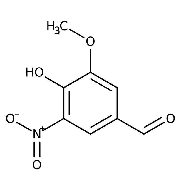 Alfa Aesar™5-Nitrovanillin, 97% 100g Alfa Aesar™5-Nitrovanillin, 97%