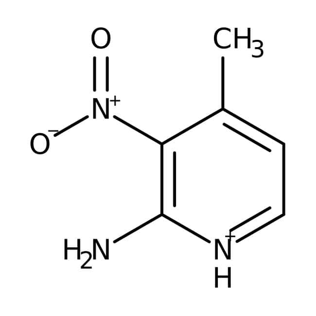 2-Amino-3-nitro-4-picoline, 98%, ACROS Organics™ 5g; Glass bottle 2-Amino-3-nitro-4-picoline, 98%, ACROS Organics™