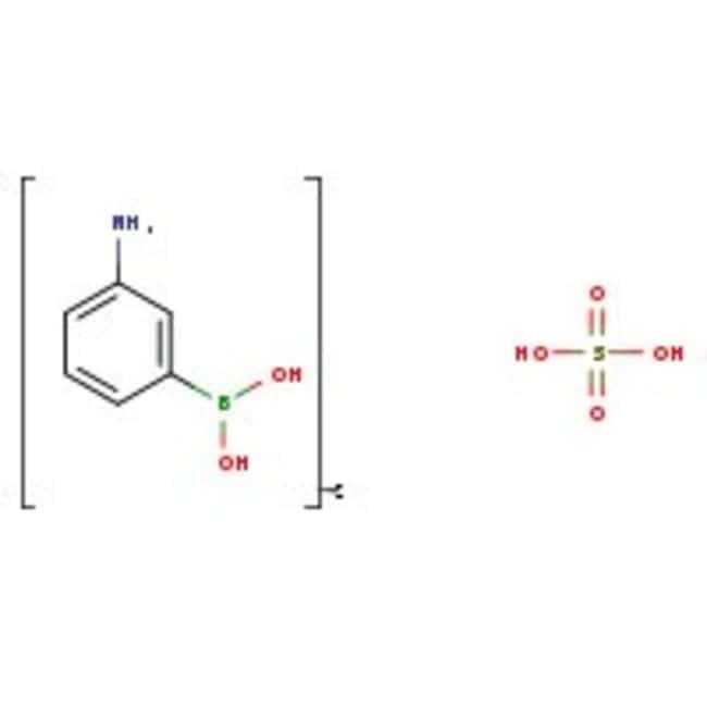 3-Aminophenylboronic acid hemisulfate, 98%, ACROS Organics™