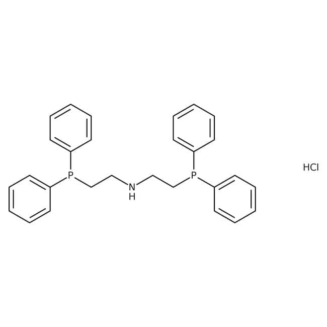 Bis[2-(diphenylphosphino)ethyl]ammonium chloride, 97+%, Alfa Aesar™ 5g Bis[2-(diphenylphosphino)ethyl]ammonium chloride, 97+%, Alfa Aesar™