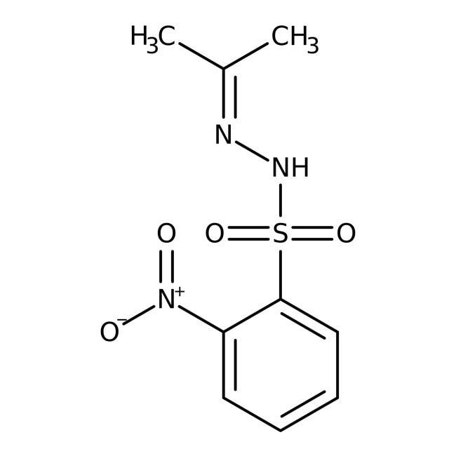 N′-Isopropylidene-2-nitrobenzenesulfonohydrazide 98.0+%, TCI America™