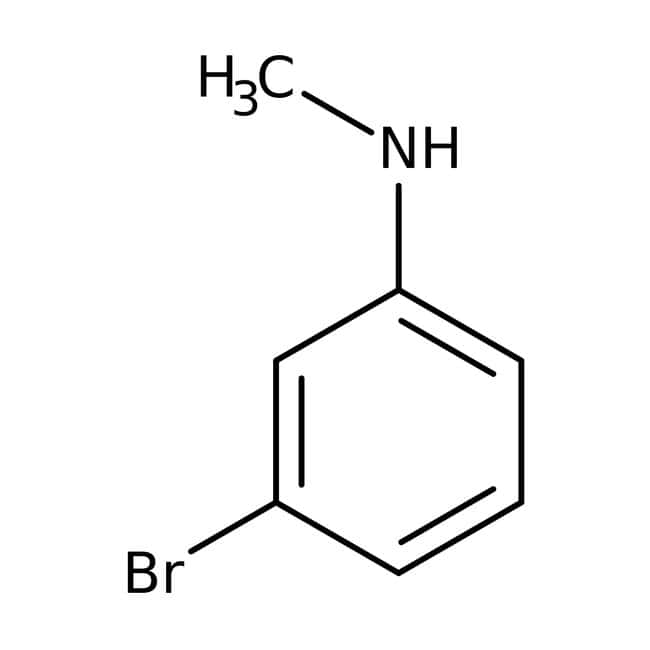 3-bromo-n-methylaniline, 98%, ACROS Organics™ 1g; Glass bottle 3-bromo-n-methylaniline, 98%, ACROS Organics™