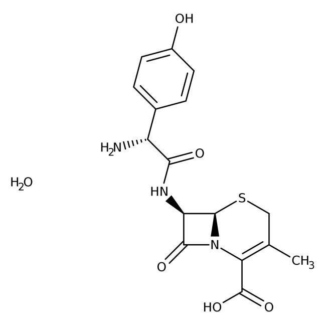 Cefadroxil, 95-105%, ACROS Organics™ 5g Cefadroxil, 95-105%, ACROS Organics™