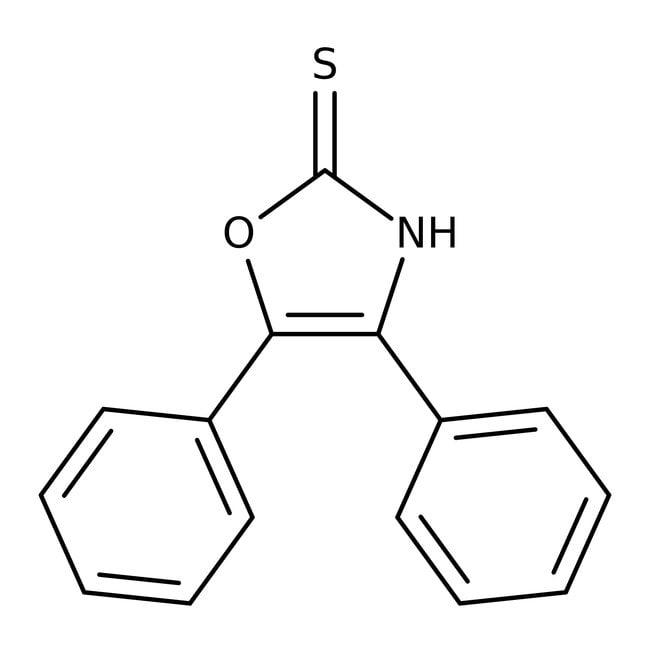 Alfa Aesar™2-Mercapto-4,5-diphenyloxazole, 98%: Chemicals Products