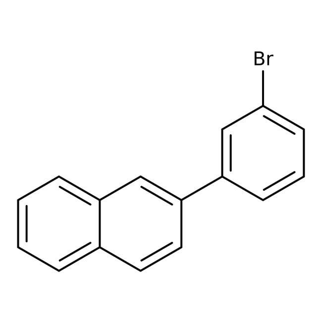 Alfa Aesar™2-(3-Bromophenyl)naphthalene, 98% 5g Alfa Aesar™2-(3-Bromophenyl)naphthalene, 98%