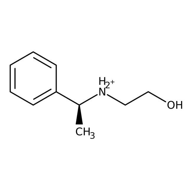 (S)-(-)-N-(2-Hydroxyethyl)- -phenylethylamine, 99%, ACROS Organics