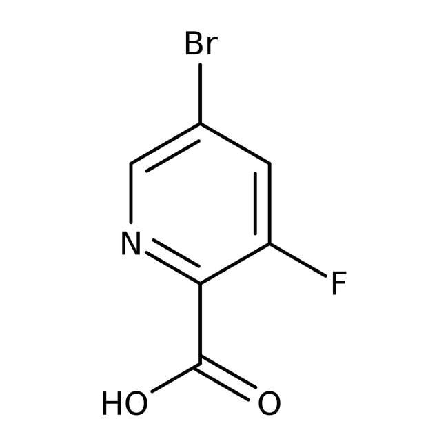 5-Bromo-3-fluoropyridine-2-carboxylic acid, 97%, ACROS Organics