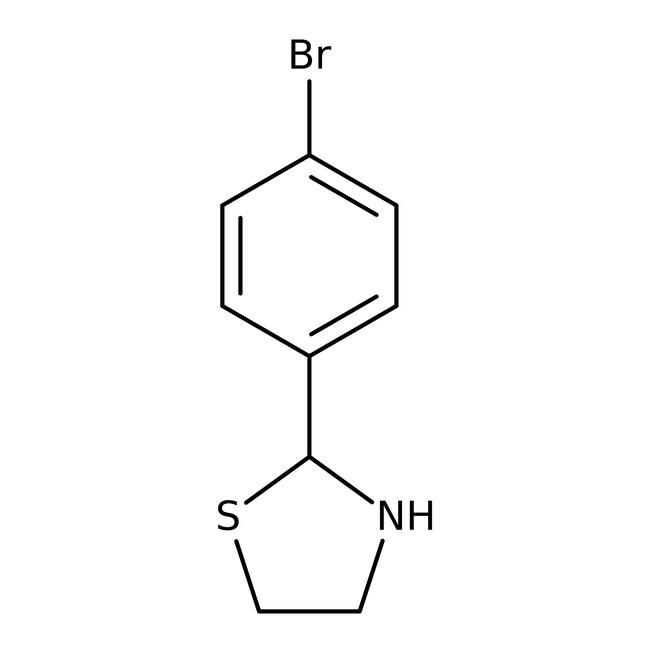 Alfa Aesar™2-(4-Bromophenyl)thiazolidine, 97% 1g Alfa Aesar™2-(4-Bromophenyl)thiazolidine, 97%