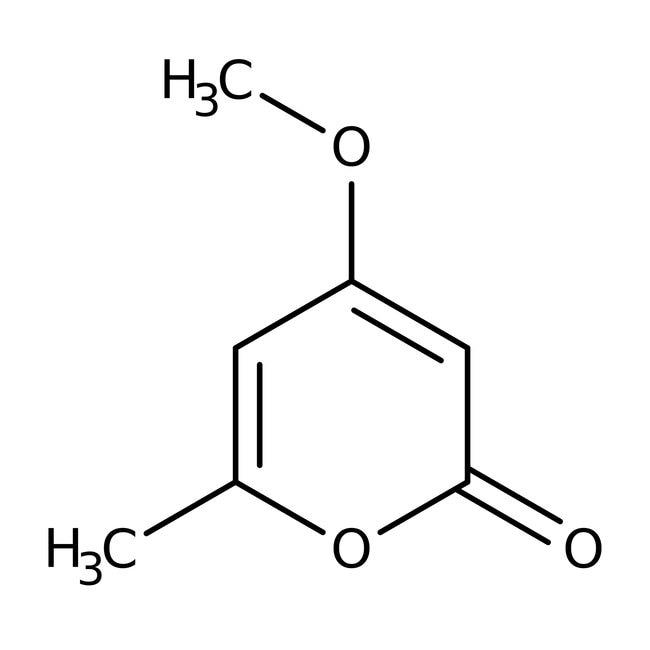 Alfa Aesar™4-Methoxy-6-methyl-2H-pyran-2-one, 97% 250mg Alfa Aesar™4-Methoxy-6-methyl-2H-pyran-2-one, 97%