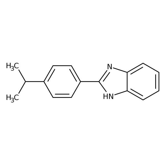 Alfa Aesar™2-(4-Isopropylphenyl)benzimidazole, 95% 1g Alfa Aesar™2-(4-Isopropylphenyl)benzimidazole, 95%