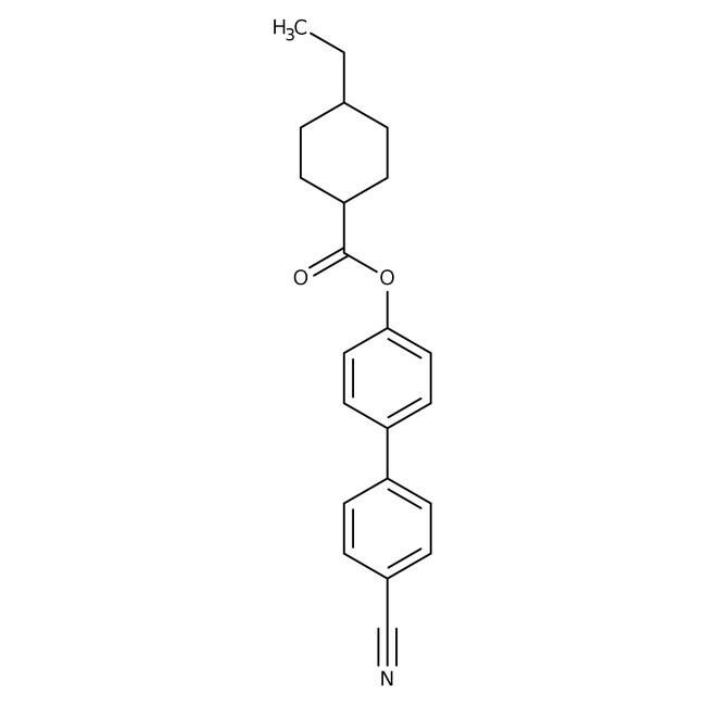Alfa Aesar™4'-Cyano-4-biphenylyl trans-4-ethylcyclohexanecarboxylate, 97%