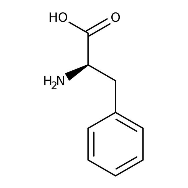 D-Phenylalanine, 99+%, ACROS Organics™ 100g; Glass bottle D-Phenylalanine, 99+%, ACROS Organics™