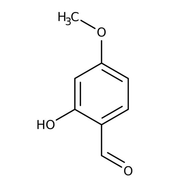 Alfa Aesar™2-Hydroxy-4-methoxybenzaldehyde, 98% 5g Alfa Aesar™2-Hydroxy-4-methoxybenzaldehyde, 98%
