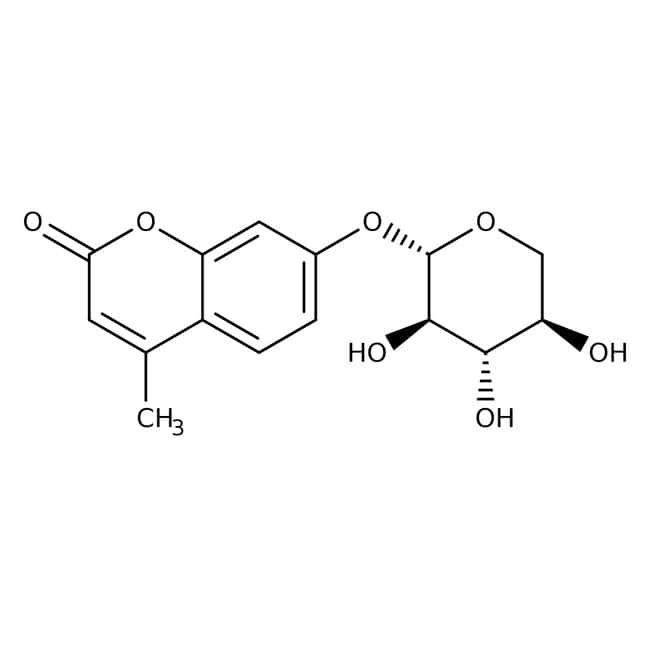 4-Methylumbelliferyl- -D-xylopyranoside, 99%, ACROS Organics