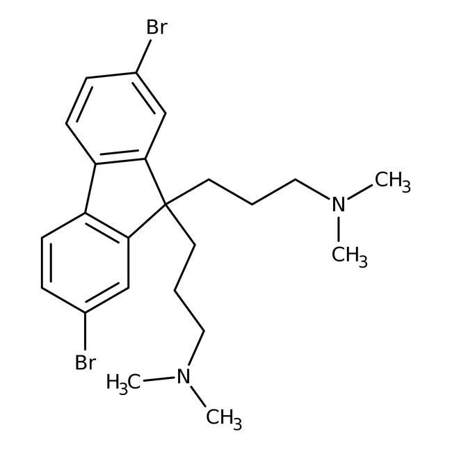 2,7-Dibromo-9,9-bis[3-(dimethylamino)propyl]fluorene 98.0 %, TCI America