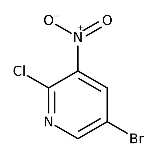 5-Bromo-2-chloro-3-nitropyridine, 98%, ACROS Organics