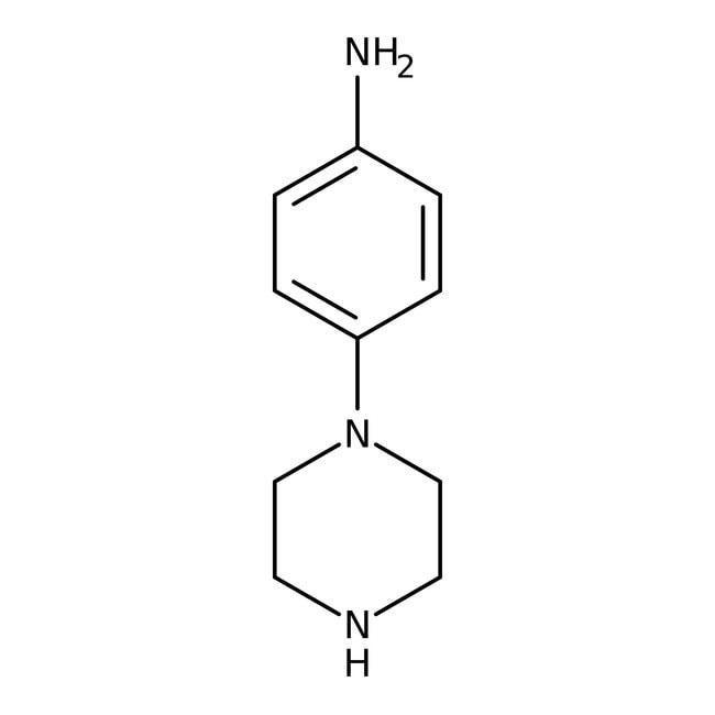 Alfa Aesar™4-(1-Piperazinyl)aniline, 97% 5g Alfa Aesar™4-(1-Piperazinyl)aniline, 97%