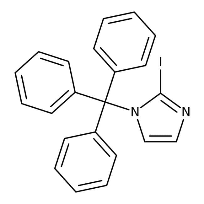 Alfa Aesar™2-Iodo-1-tritylimidazole, 97% 1g Alfa Aesar™2-Iodo-1-tritylimidazole, 97%