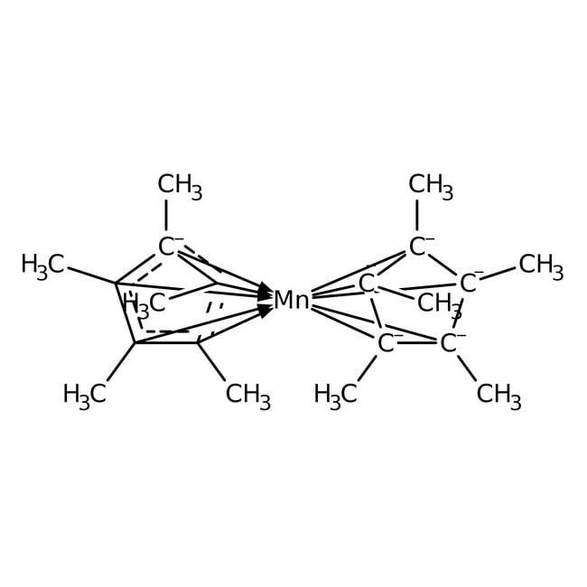 Bis(pentamethylcyclopentadienyl)manganese, 98%, ACROS Organics