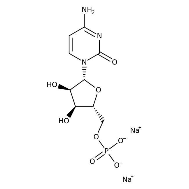 Alfa Aesar™Cytidine-5'-monophosphate disodium salt, 99+% 5g Alfa Aesar™Cytidine-5'-monophosphate disodium salt, 99+%