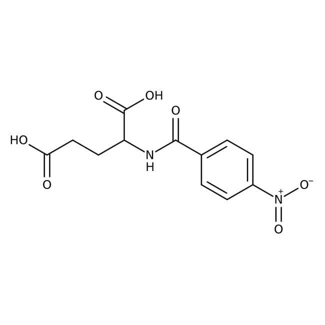 N-(4-Nitrobenzoyl)-L-glutamic acid hemihydrate, 98%, ACROS Organics