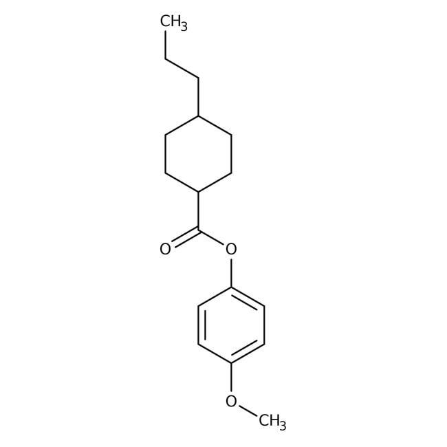 Alfa Aesar™4-Methoxyphenyl 4-n-propylcyclohexanecarboxylate, 97%