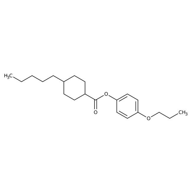 Alfa Aesar™4-n-Propoxyphenyl trans-4-n-pentylcyclohexanecarboxylate, 98% 1g Alfa Aesar™4-n-Propoxyphenyl trans-4-n-pentylcyclohexanecarboxylate, 98%