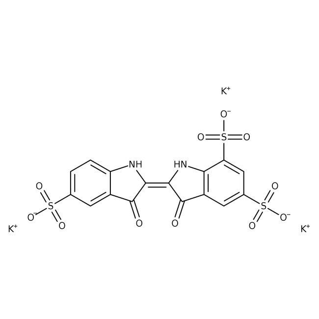 Potassium indigotrisulfonate, ACROS Organics