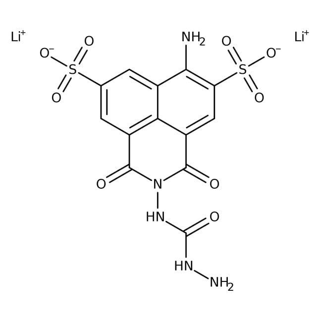 Lucifer Yellow CH, Dilithium Salt, ≥99%, >95%, MP