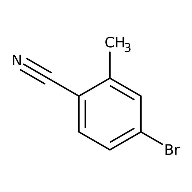4-Bromo-2-methylbenzonitrile, 97%, ACROS Organics