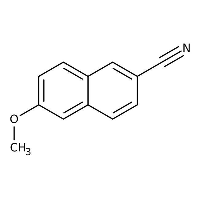 6-Methoxy-2-naphthonitrile, 98%, ACROS Organics™ 1g 6-Methoxy-2-naphthonitrile, 98%, ACROS Organics™
