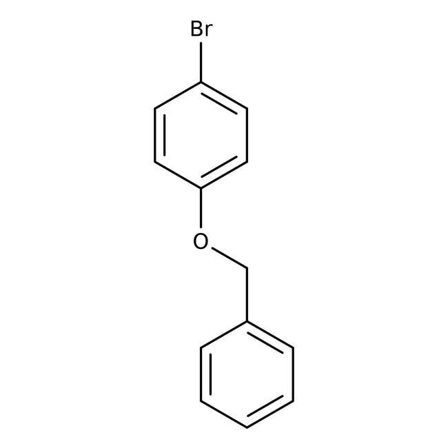 4-Benzyloxybromobenzene, 97%, ACROS Organics™ 50g 4-Benzyloxybromobenzene, 97%, ACROS Organics™