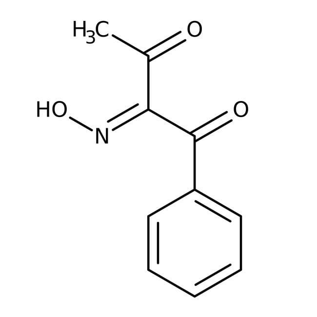 Alfa Aesar™1-phényl-1,2,3-butanétrione 2-oxime, +98% 5g Alfa Aesar™1-phényl-1,2,3-butanétrione 2-oxime, +98%