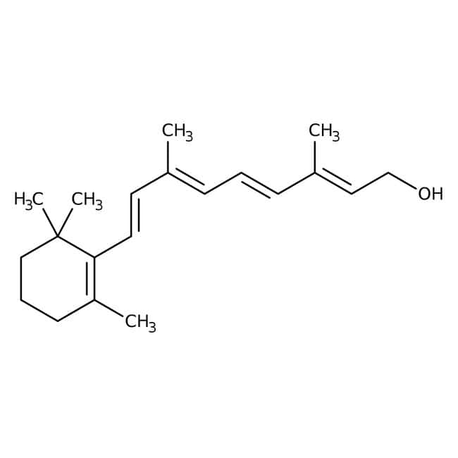 all-trans-Retinol, 95%, ACROS Organics™: Fatty Acyls Lipids and lipid-like molecules
