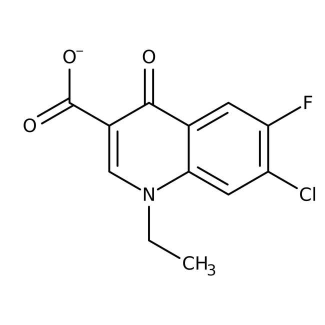 7-Chloro-1-ethyl-6-fluoro-4-oxohydroquinoline-3-carboxylic acid, 98%, Acros Organics