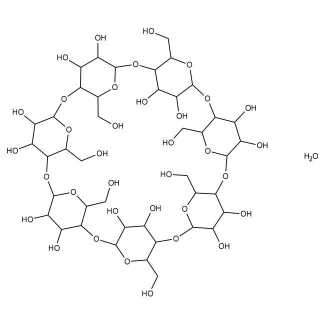 β-Cyclodextrin hydrate, 99%, ACROS Organics™