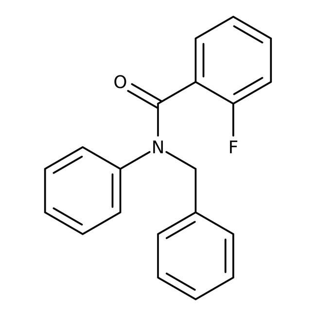Alfa Aesar™N-Benzyl-2-fluoro-N-phenylbenzamide, 97% 250mg Alfa Aesar™N-Benzyl-2-fluoro-N-phenylbenzamide, 97%