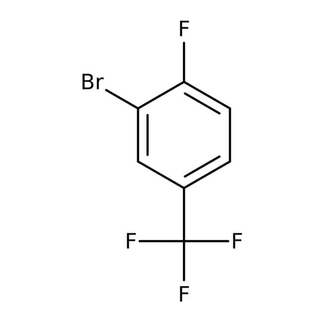 Alfa Aesar™3-Bromo-4-fluorobenzotrifluoruro, 97 % 1g Alfa Aesar™3-Bromo-4-fluorobenzotrifluoruro, 97 %