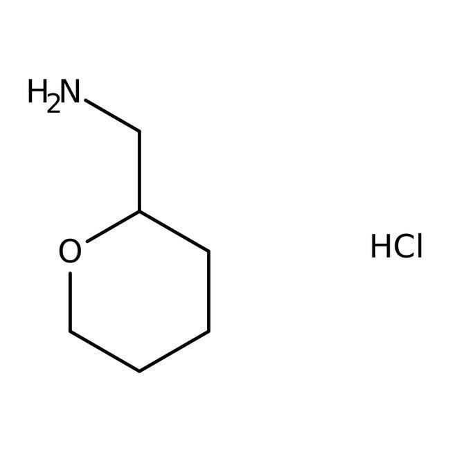Tetrahydropyran-2-ylmethylamine, 97%, Maybridge Amber Glass Bottle; 250mg Tetrahydropyran-2-ylmethylamine, 97%, Maybridge