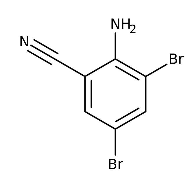 Alfa Aesar™2-Amino-3,5-dibromobenzonitrile, 97% 5g Alfa Aesar™2-Amino-3,5-dibromobenzonitrile, 97%